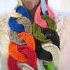 Renkli Halkalı Fular