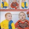 Renkli Örgü Bebek Hırkası Yapımı