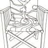 Kanava İşi Resimli Sandalye Yapımı