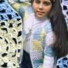 Renkli Çiçek Motifli Kız Çocuk Hırka Modeli