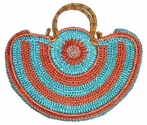 örgülü çanta