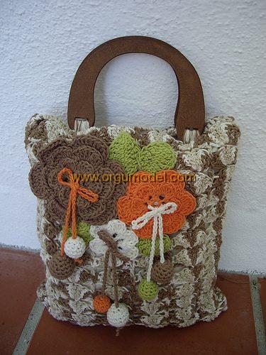 motifli çanta