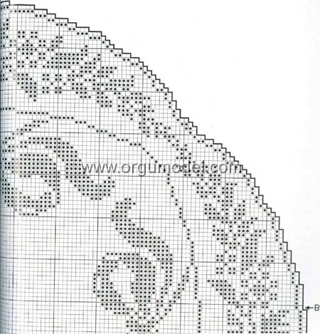 Fiyonk-ve-Çiçek-Desenli-Kirli-Pembe-Dantel-Örtü-Şeması-2