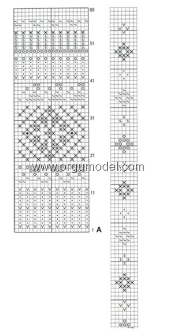 Lale-Desenli-Yelek-Yapılış-Şeması