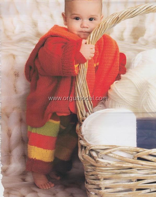 Tarifli Çocuk Paltosu