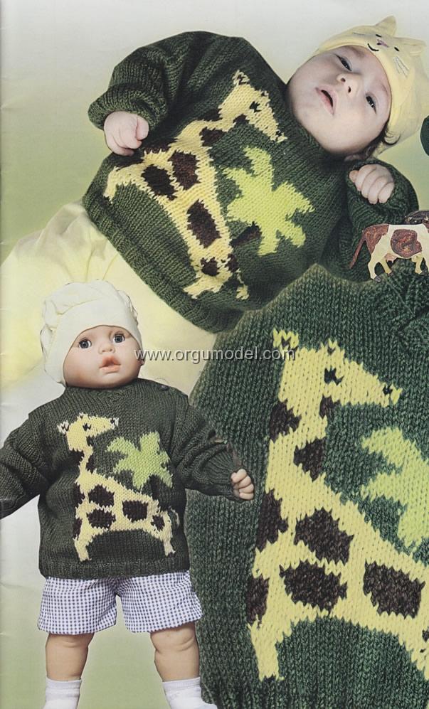 bebek kazak yapılışı