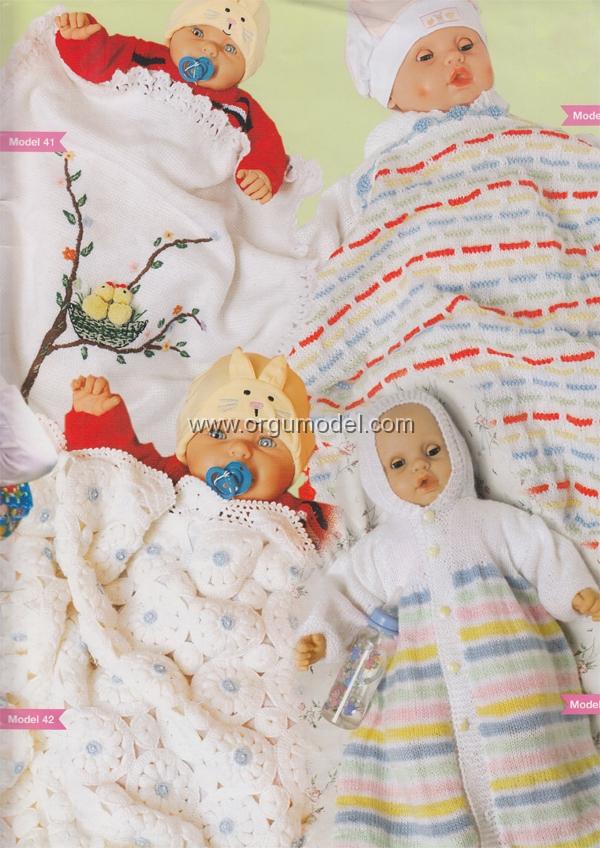 civcivli-orgu-bebek-battaniyesi-yapimi
