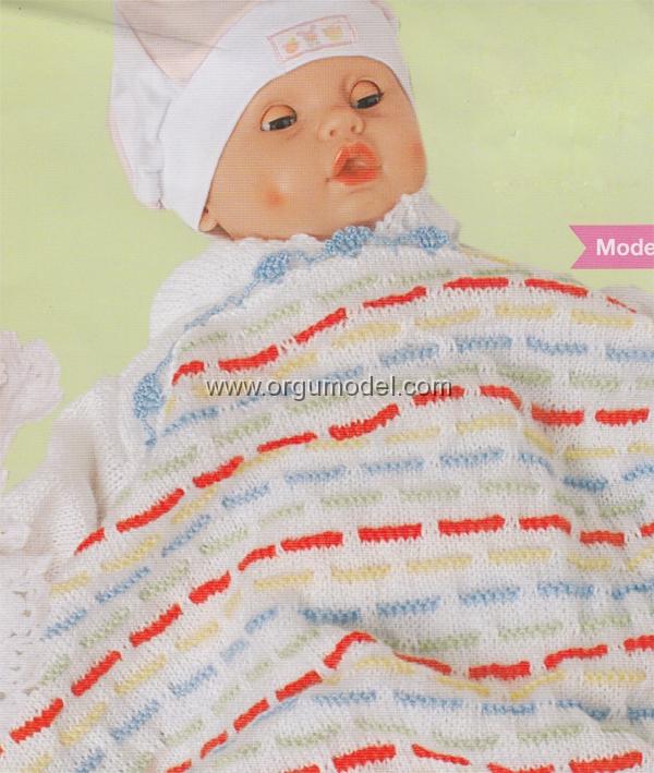 tarifli-cizgili-bebek-battaniyesi