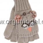 baykuş gri eldiven