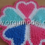 renkli kalplerden oluşan lif