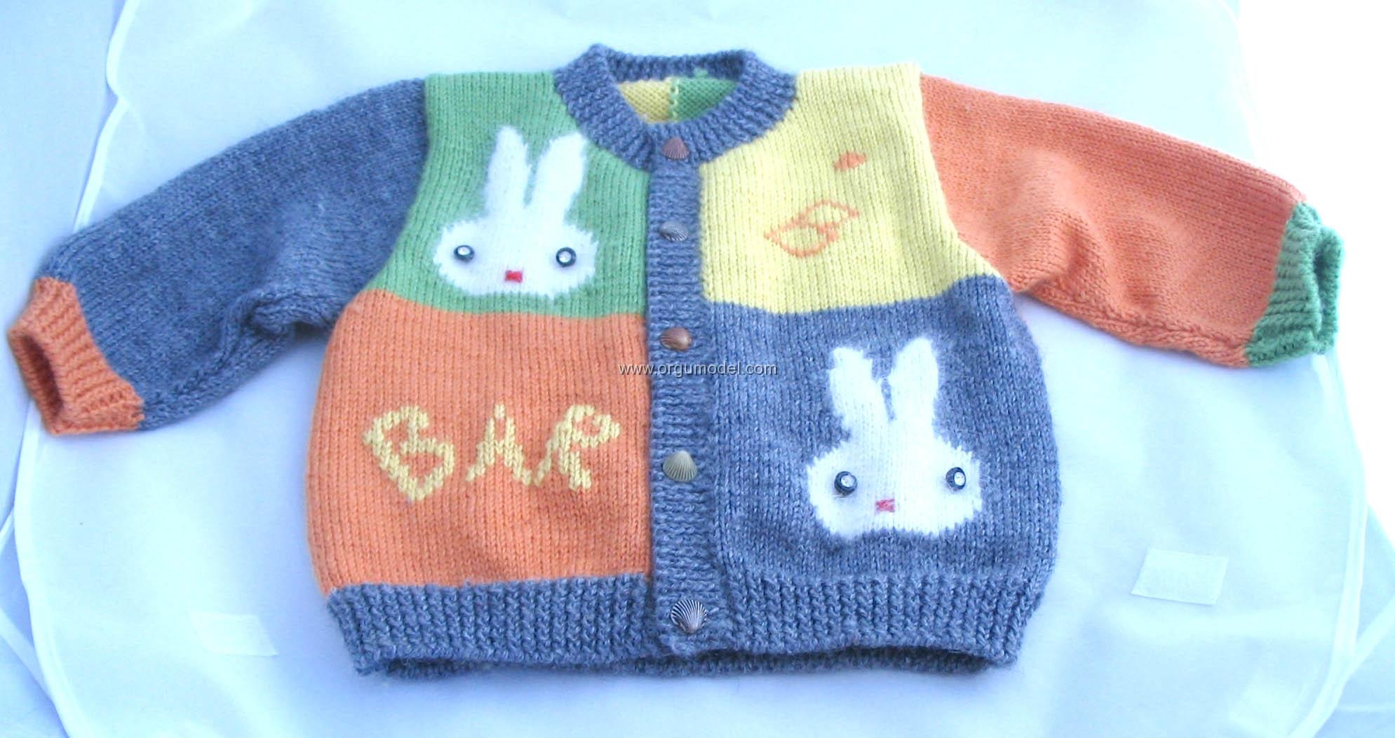 Tavşanlı Bebek Yelegi Yapılışı